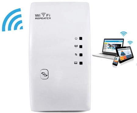 WiFi ������ ����������� ������� WR01 2.4GHz 300Mbps WiFi Signal Extender