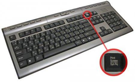 Как сделать скриншот экрана компьютера? Изображение клавиатуры с выделенной кнопкой PrtScr
