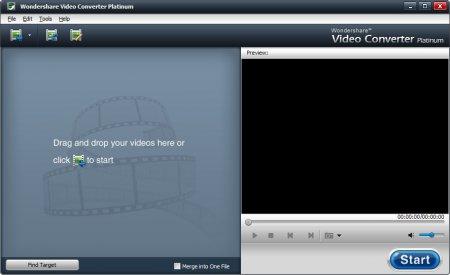 Как преобразовать видео программой Wondershare video converter?