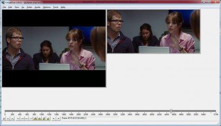 Как обрезать края видео в virtualdub?