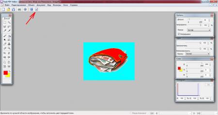 Программа для изменения пдф имеет встроенный редактор изображений