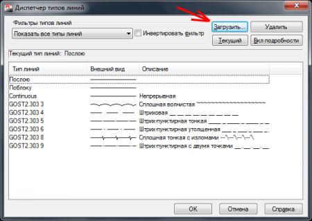 Как создать новый тип линии с текстом в программе AutoCAD?