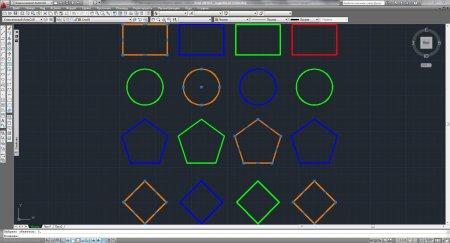 Как выделить все объекты одного слоя в AutoCAD?