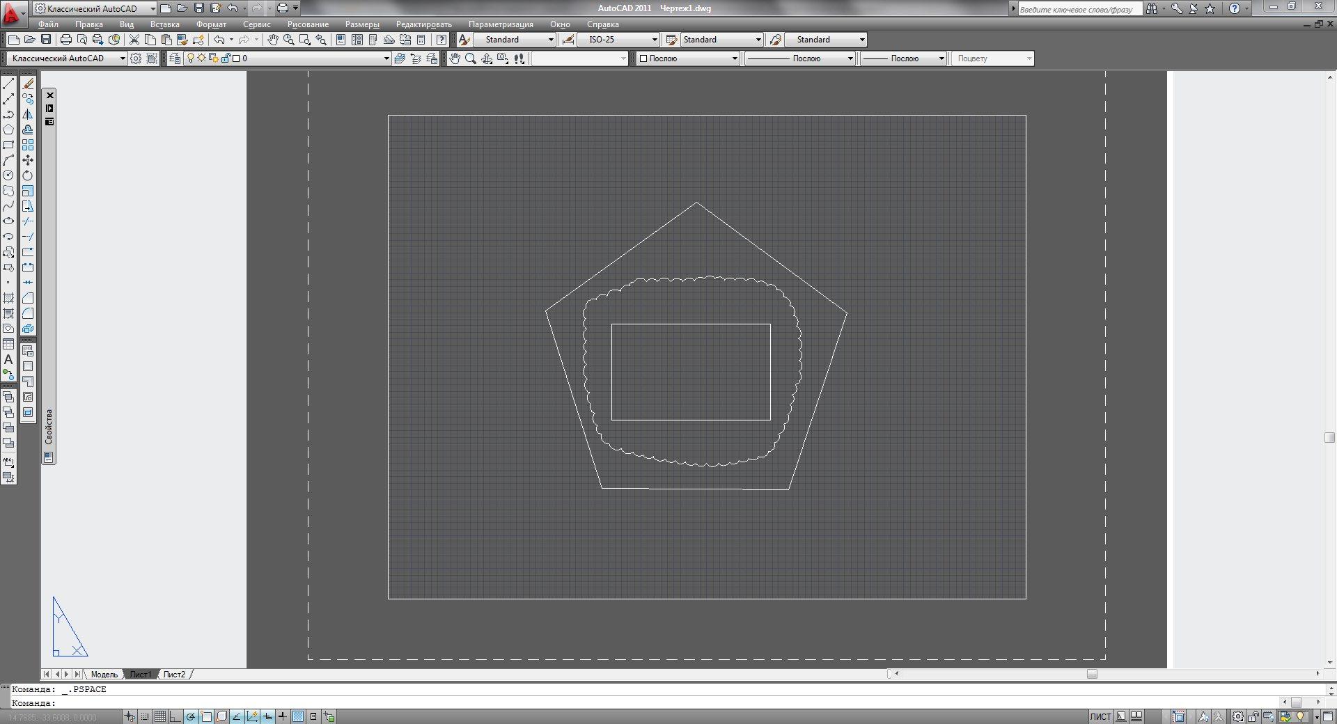 Как сделать видовой экран по рамке