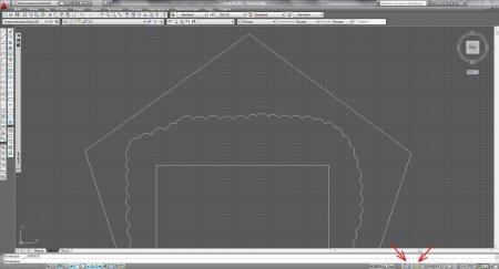 Как выйти из видового экрана в пространстве листа AutoCAD?