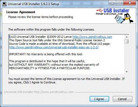 Создание загрузочной флешки с установочным пакетом Windows 7 программой Universal USB Installer