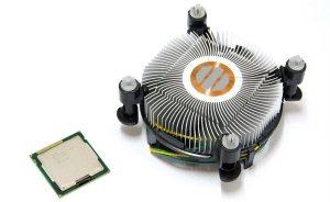 Компьютерный процессор с системой охлаждения
