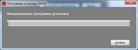 Как установить фотошоп CS5? Инициализация программы установки