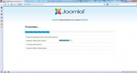 Установка Joomla на Денвер. Процесс установки joomla