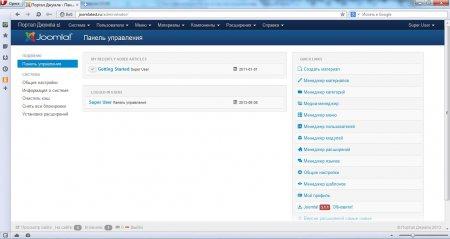 Установка Joomla на Денвер. Полностью русифицированная joomla