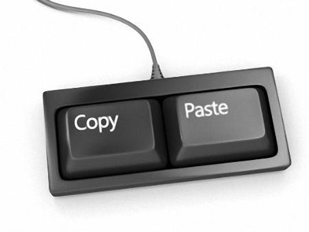 Как копировать текст с помощью клавиатуры?