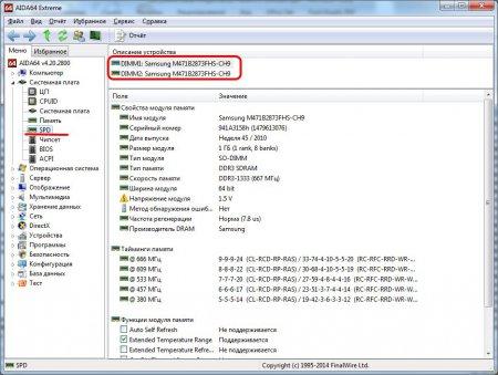 Как узнать тип оперативной памяти. Программа AIDA64