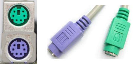 Подключение клавиатуры и мышки PS/2