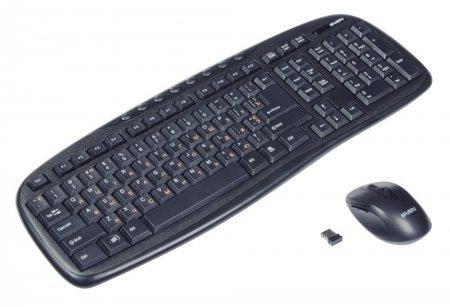 Мышка и клавиатура с радио передатчиком