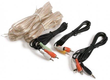 Комплект кабелей для подключения акустической системы 5.1 к компьютеру