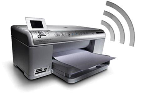 Как подключить принтер через wifi?