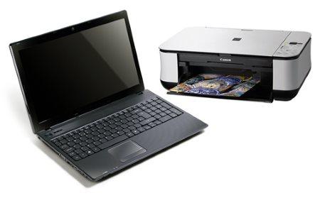 Как принтер подключить к ноутбуку?