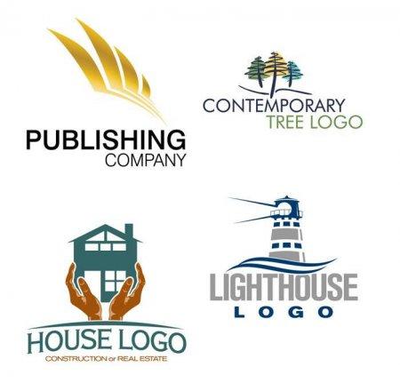 Пример векторных логотипов