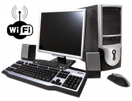 Как подключить компьютер к wifi?