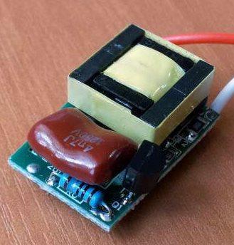 Простой драйвер на одном транзисторе