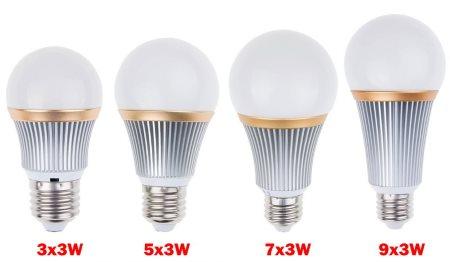 Компактная светодиодная лампа 9 Вт E27 Lemon Best из магазина AliExpress