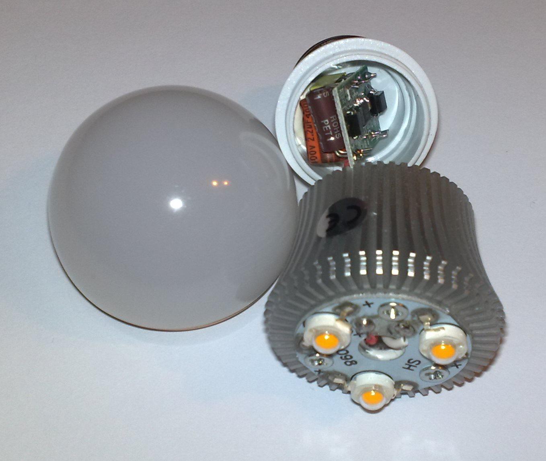 Ремонт светодиодные лампы своими руками