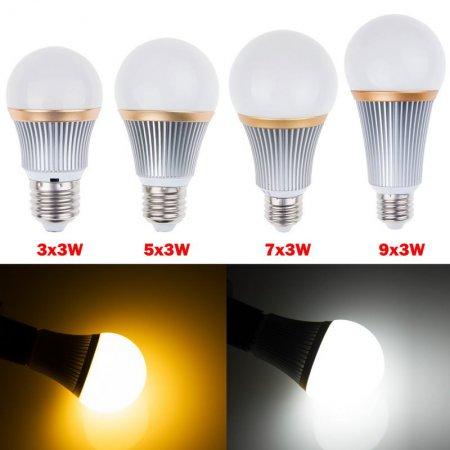 Красивая компактная светодиодная лампа