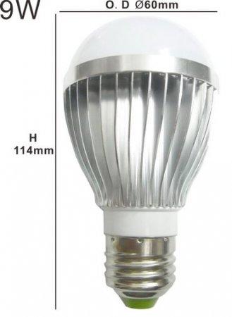 LED лампа 9 Вт E27 от производителя XY-Light