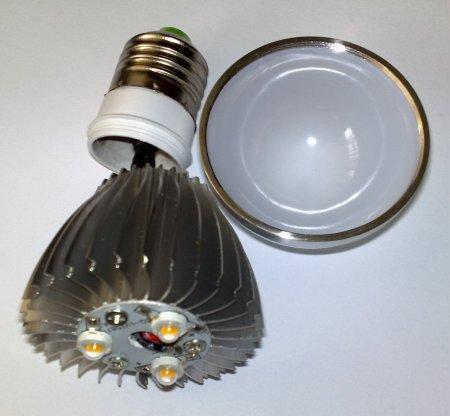 Разобранная лампа LED 9 Вт E27 XY-Light