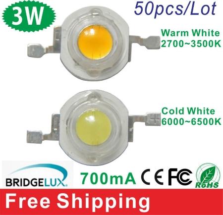 Настоящие сверхяркие светодиоды 3 ватта Bridgelux от XY-Light из магазина AliExpress