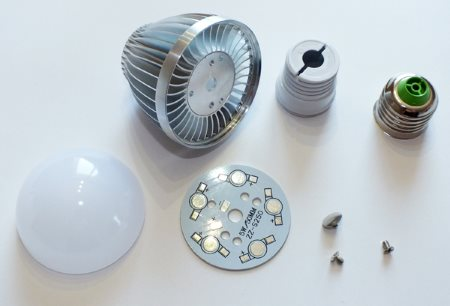 Комплект для сборки светодиодной лампы 5 Вт из магазина AliExpress