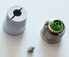 Разбирающийся цоколь E27 для LED лампы