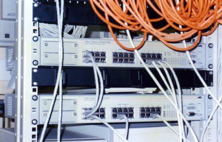 Построение локальной сети организации