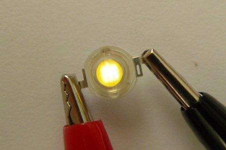 Размер чипа светодиода 3 Вт