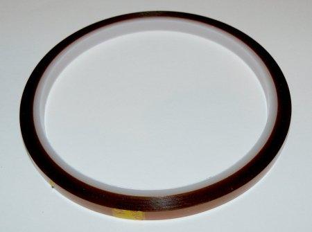 Высокотемпературный полиамидный скотч 5 мм