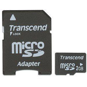 microSD с адаптером