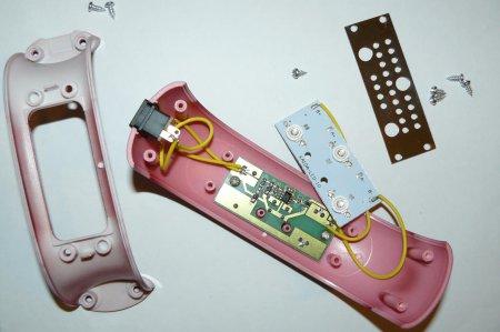 Ультрафиолетовая сушилка для ногтей в разборе