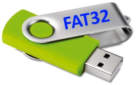 Как отформатировать флешку в fat32?