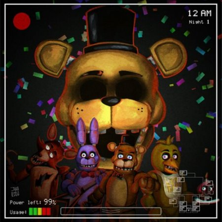 Обзор на Five Nights at Freddy's