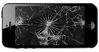 Разбитый экран Айфона