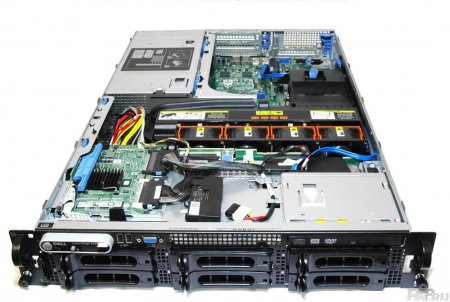 Сервер передняя панель