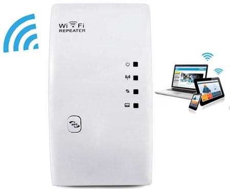 WiFi роутер повторитель сигнала WR01 2.4GHz 300Mbps WiFi Signal Extender