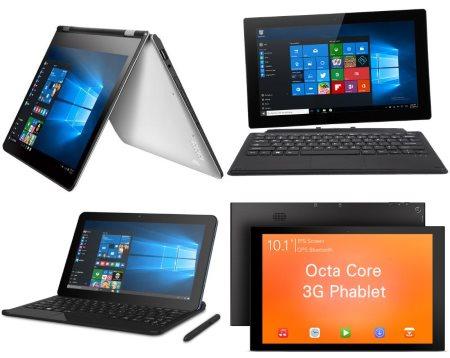 Новинки ультрабуков и планшетов в магазине GearBest