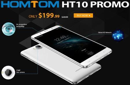 Флеш-сейл на телефон HOMTOM HT10 4G Phablet и другие модели этого бренда