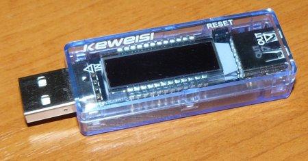 Фото USB тестера Keweisi KWS-V20