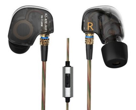 Спортивная мобильная гарнитура KZ-ATE In-Ear 3.5mm