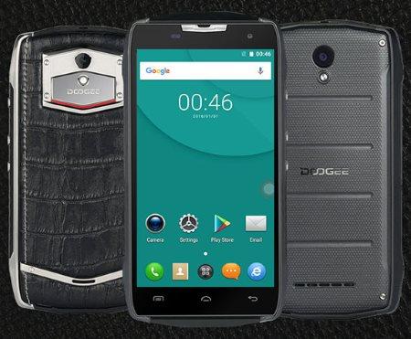 Защищенный телефон для спорта и бизнеса DOOGEE T5