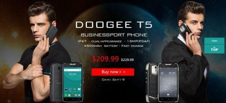Реклама DOOGEE T5
