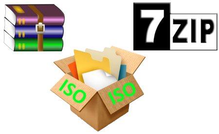 Как распаковать ISO файл на компьютере с помощью WinRAR или 7-Zip - программы, открывающие ISO