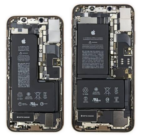 IPhone Xs и IPhone Xs Max аккумуляторы